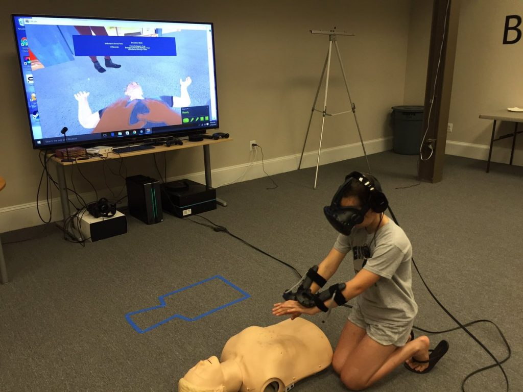 BrickSimple brings augmented reality to CPR training – healthiAR+VR+